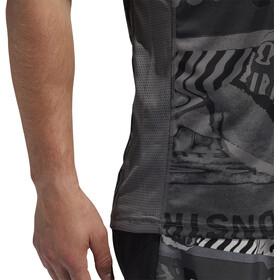 adidas OWN The Run Maglia a maniche corte Uomo, grey four/black